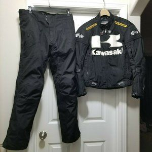 Joe Rocket Kawasaki Armored Motorcycle Jacket Pant